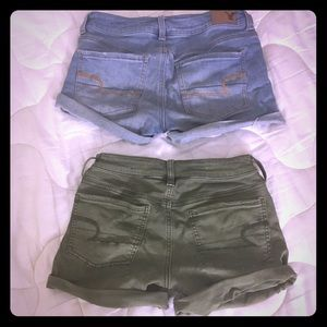 An American Eagle shorts bundle